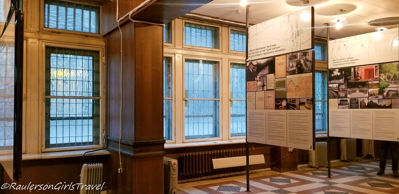 KGB Museum showcasing the history of the Latvian Occupation