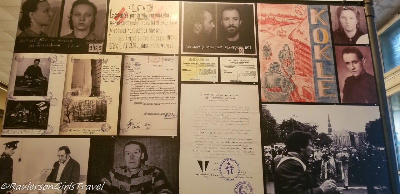 Letter and photos of Latvian citizens
