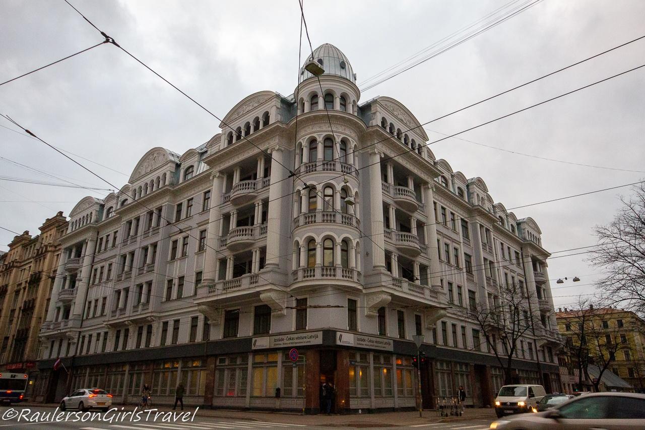 The Corner House in Riga