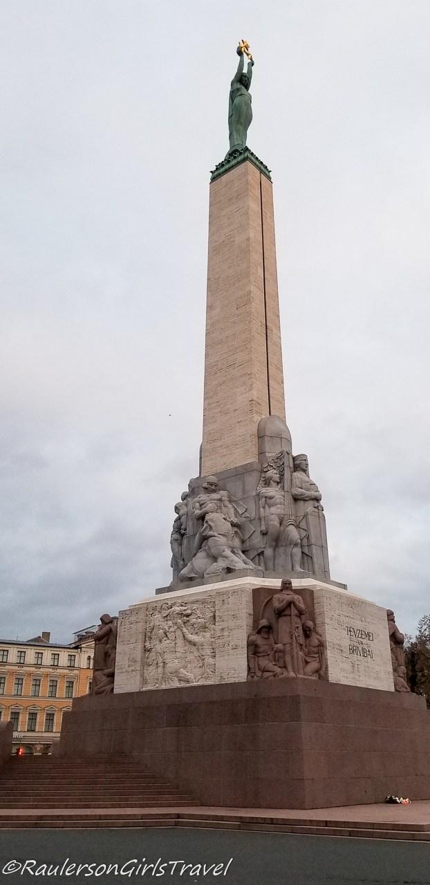 Freedom Monument in Riga