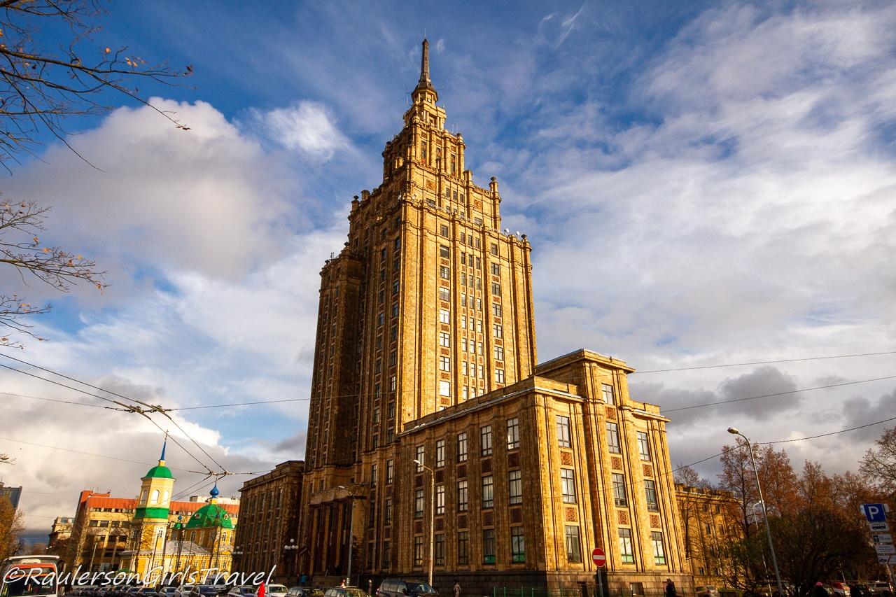 Latvian Sciences Academy Building