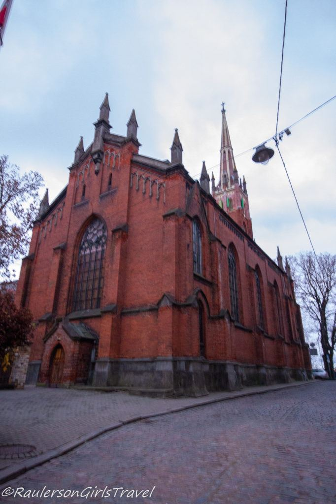 St. Saviour's Anglican Church in Riga