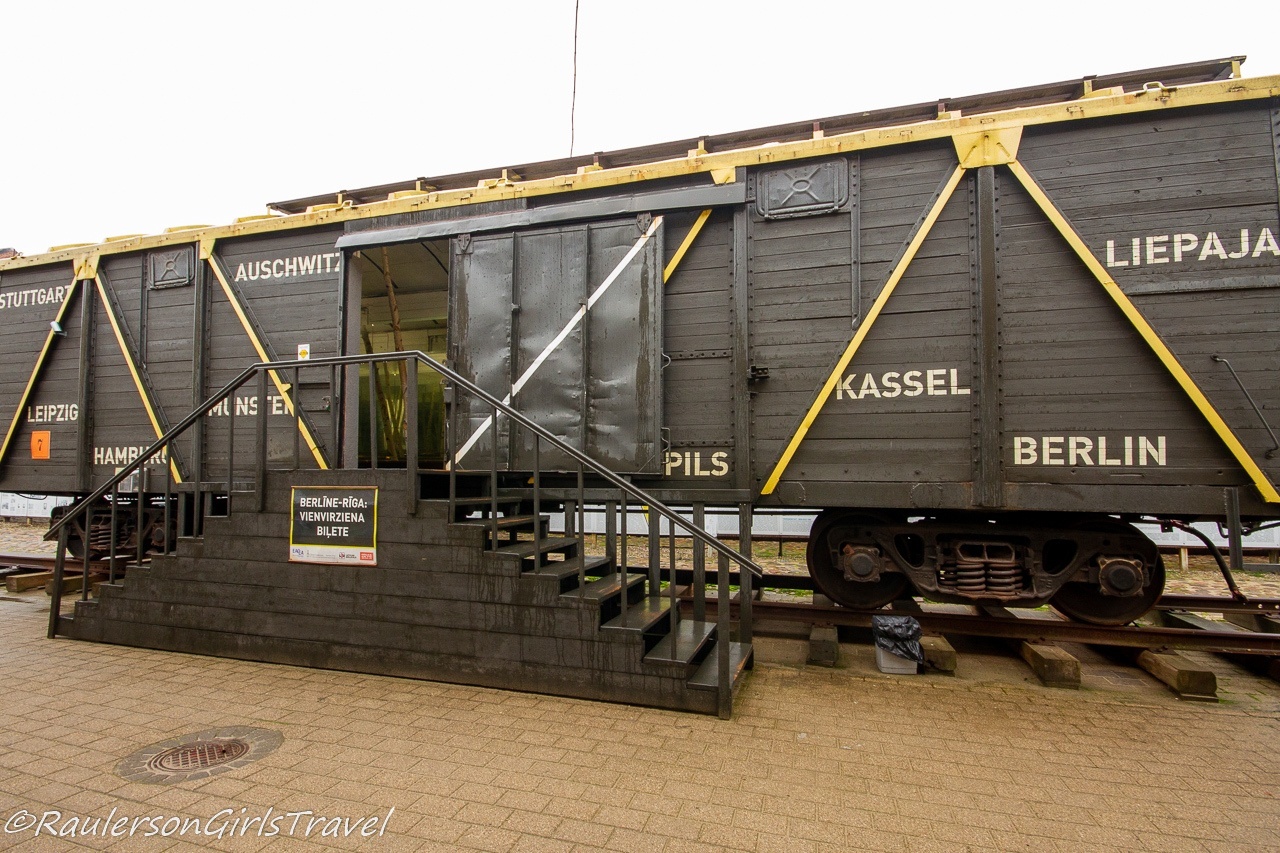 Cattle Car that transported Jews to the Riga Ghetto