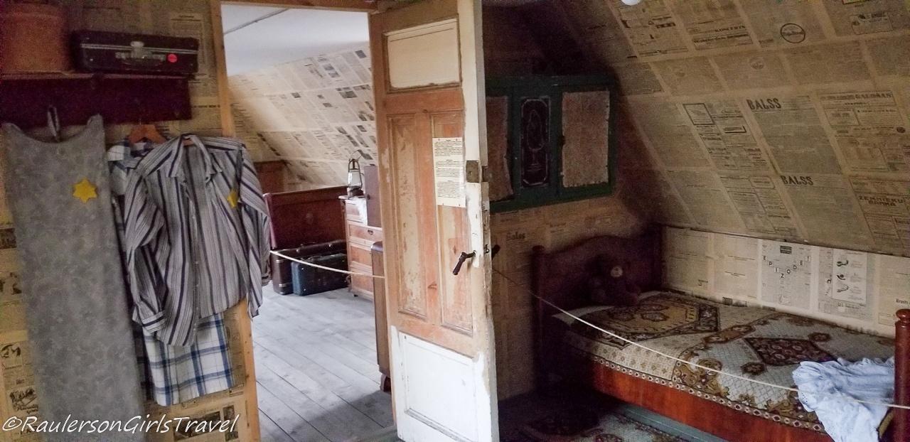 Jewish Bedroom in the Riga Ghetto