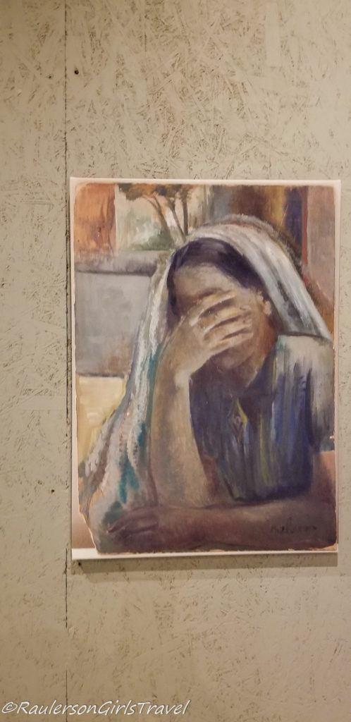 Painting of Jewish woman