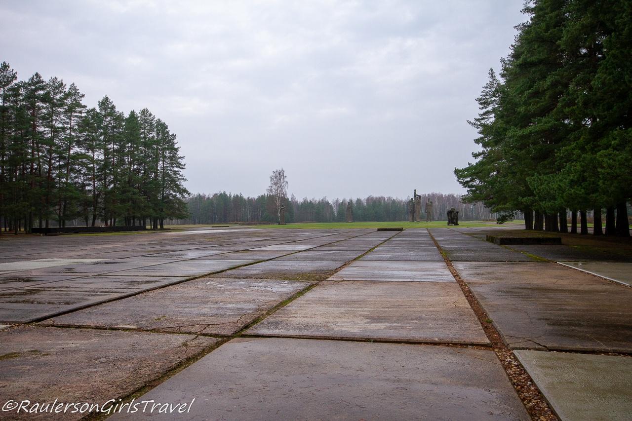 Salaspils Memorial Ensemble in Latvia