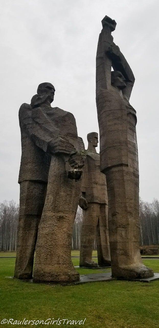 Solidarity - Salaspils Memorial Ensemble