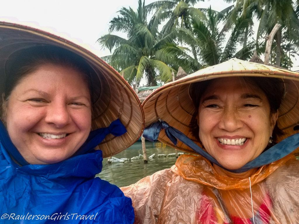 Heather and Lyla in Hoi An