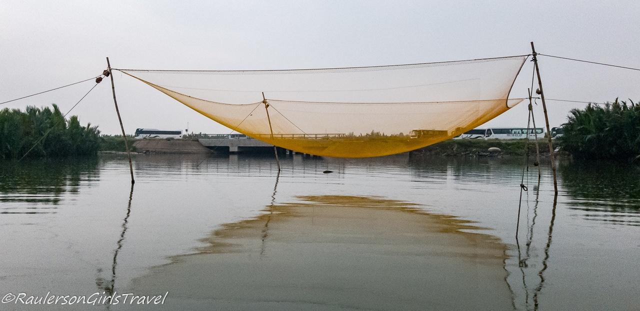 Fishing Net in Thu Bồn River