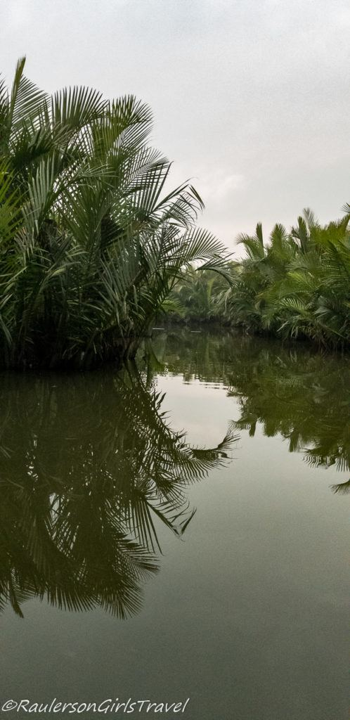 Reflections in the Thu Bồn River