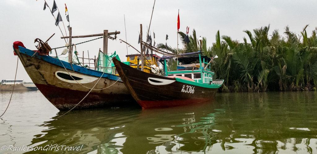 Fishing Boats in Hoi An