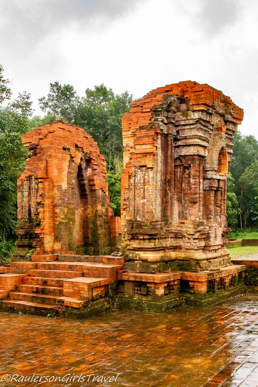 Restored temple gate in My Son Sanctuary