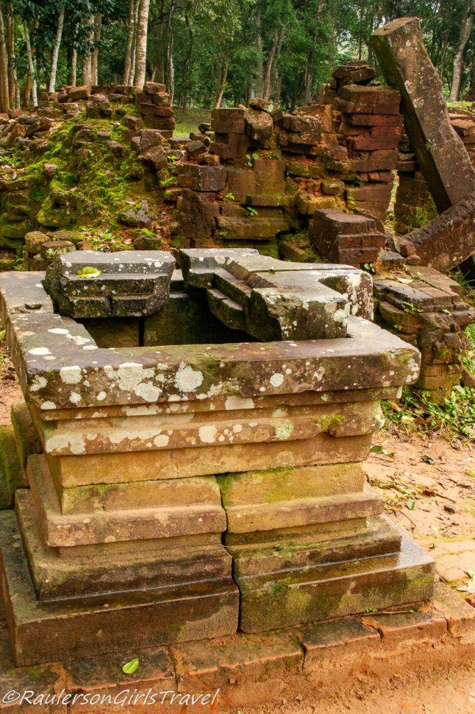 Pedestal - Where Ganesha statue stands