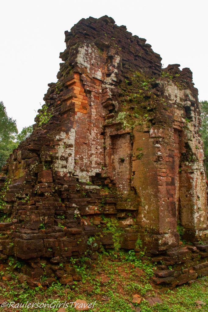 Ruin of a temple wall