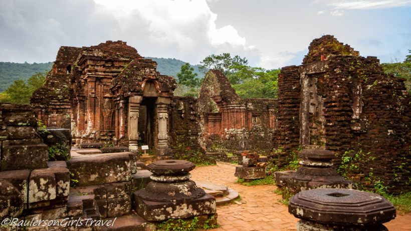 Temples in Group C in My Son Valley