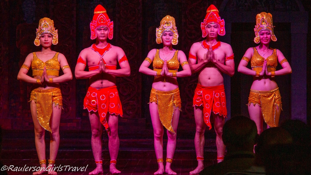 The end of the Apsara Dance
