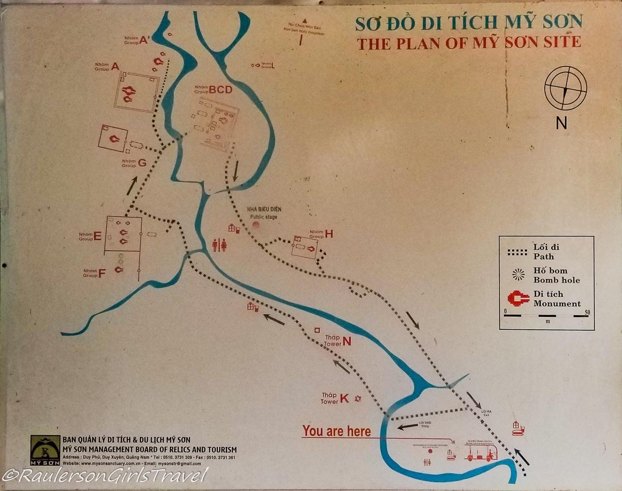 My Son Sanctuary Map