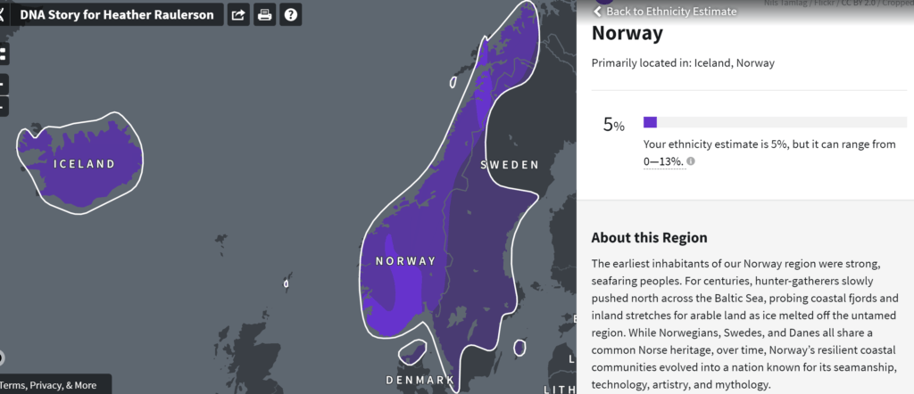 Norway DNA results