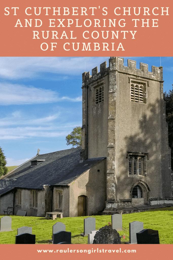 St. Cuthbert's Church Pinterest Pin