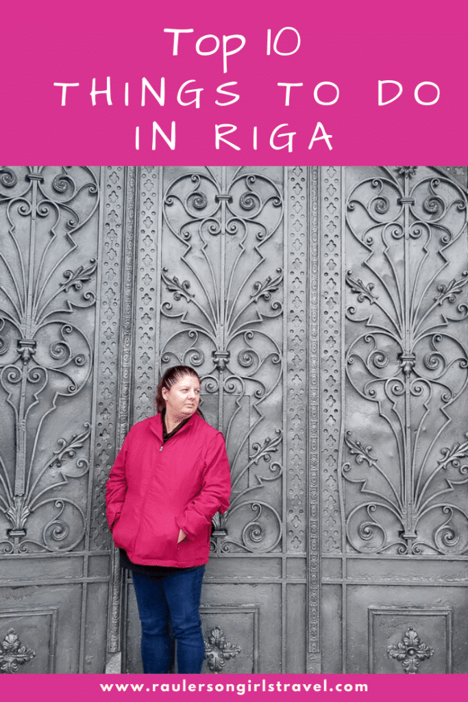 Things to do in Riga Pinterest Pin