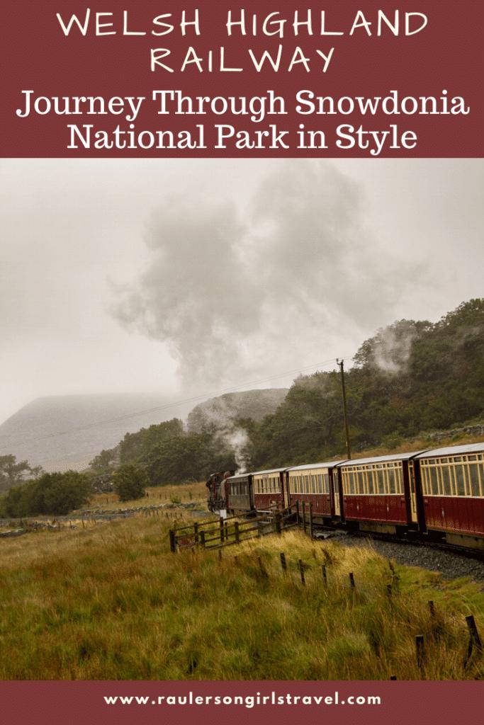 Welsh Highland Railway Pinterest Pin