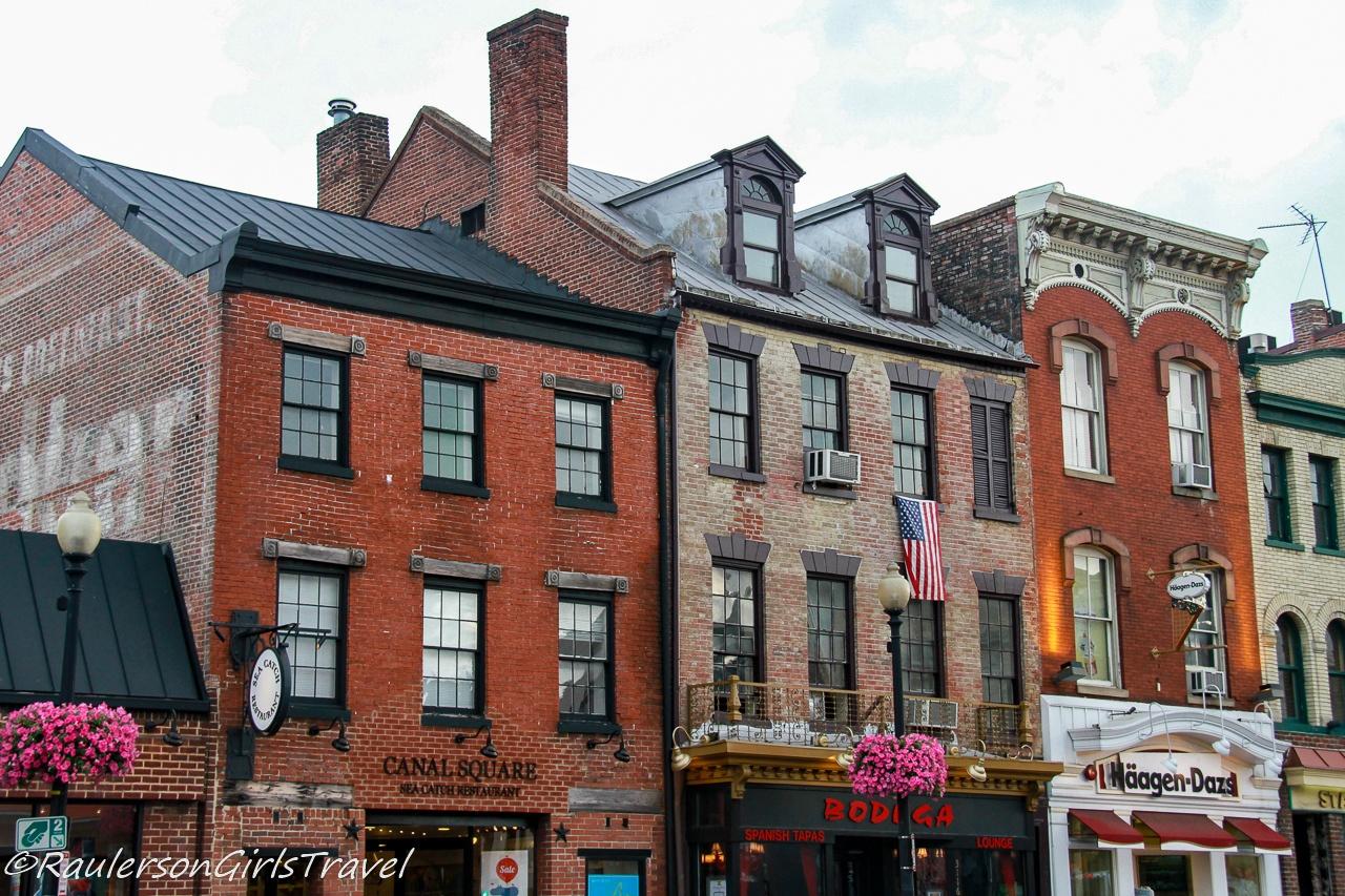Old buildings in Georgetown