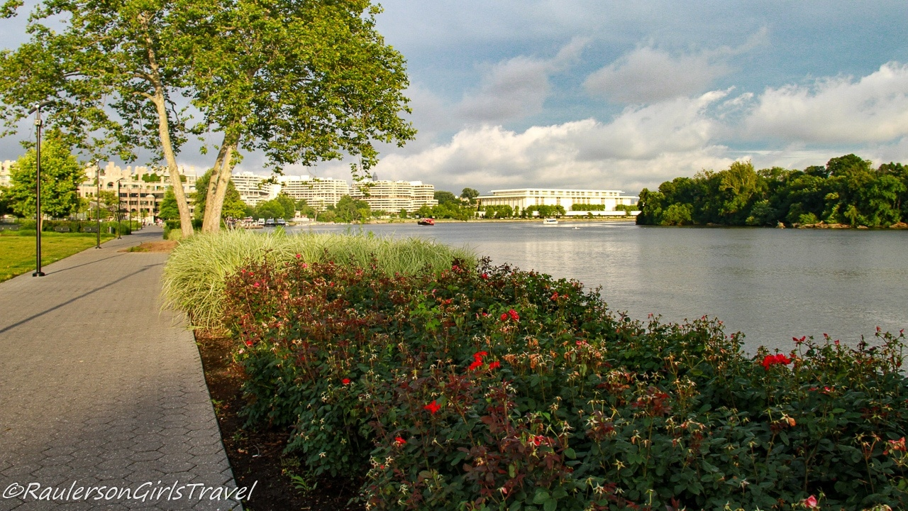Pathway along the Georgetown Waterfront