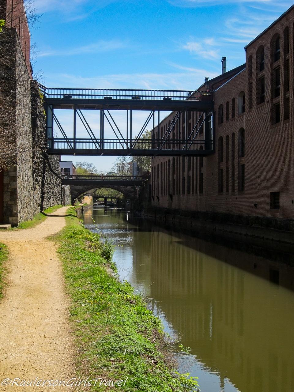 Bridges over the Chesapeake and Ohio Canal