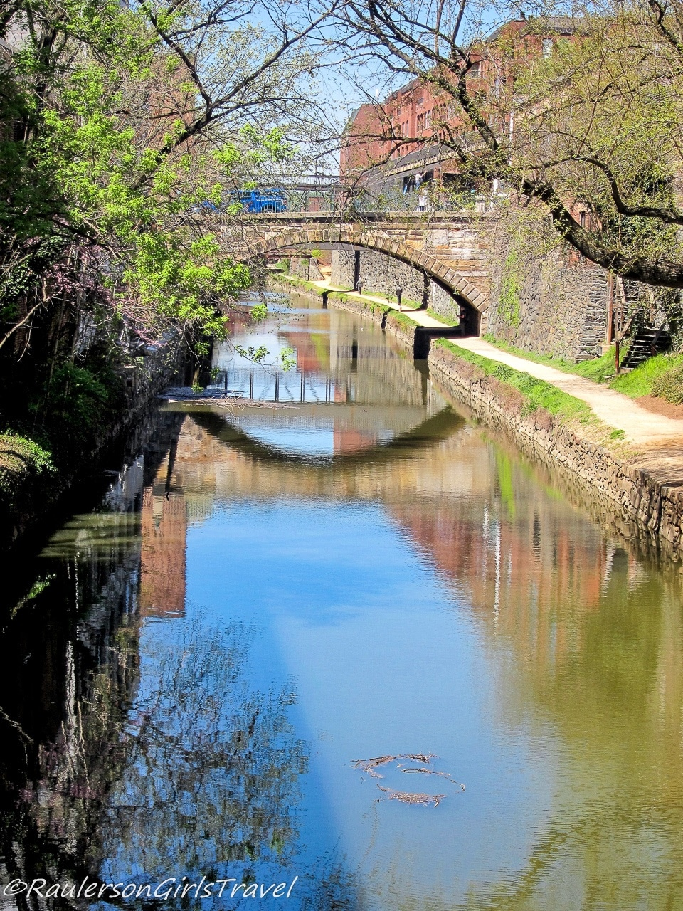 Reflections in the Chesapeake & Ohio Canal