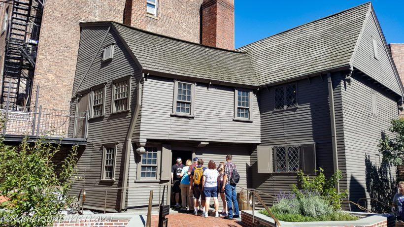 Paul Revere House - Boston Freedom Trail