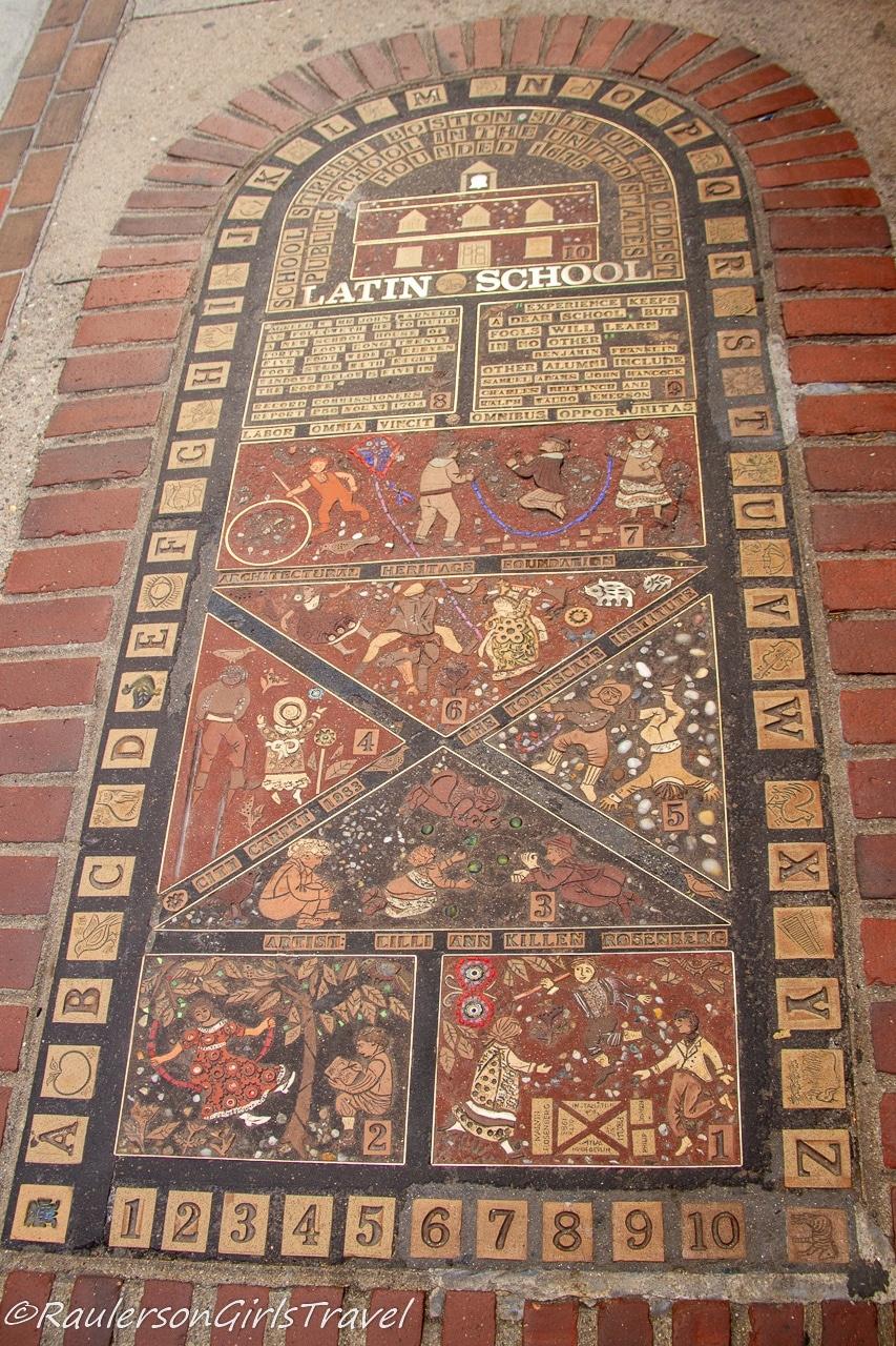 Boston Latin School Site - Boston Freedom Trail