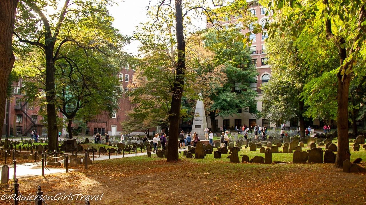 Granary Burying Ground - Boston Freedom Trail