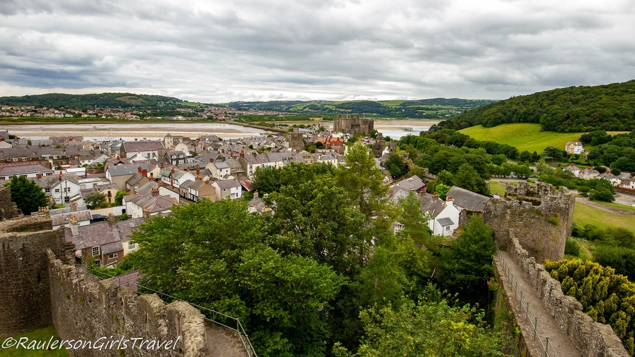 View of Conwy from Medieval Town Walls