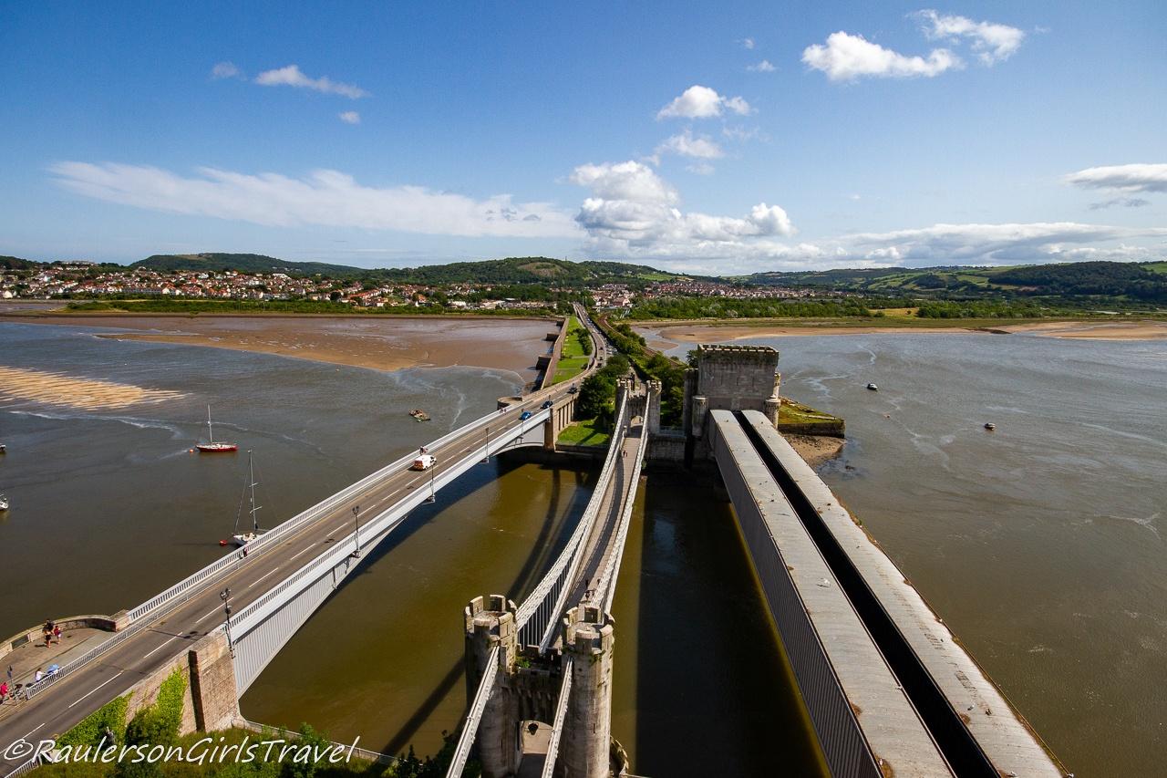Conwy Suspension Bridge & Toll House