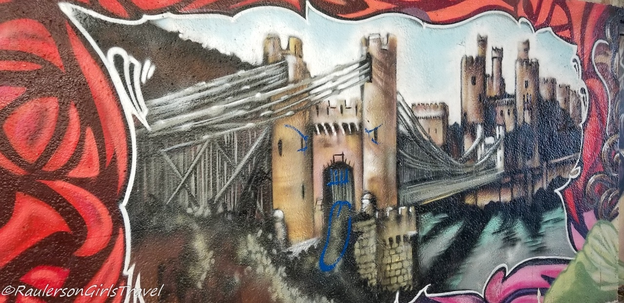 Conwy Castle Street Art - Things to do in Conwy