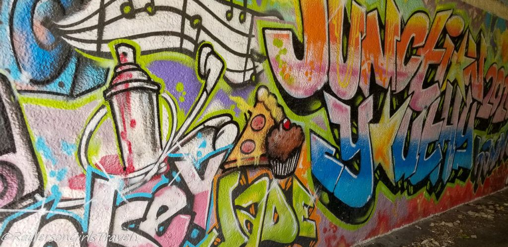 Street Art in Conwy