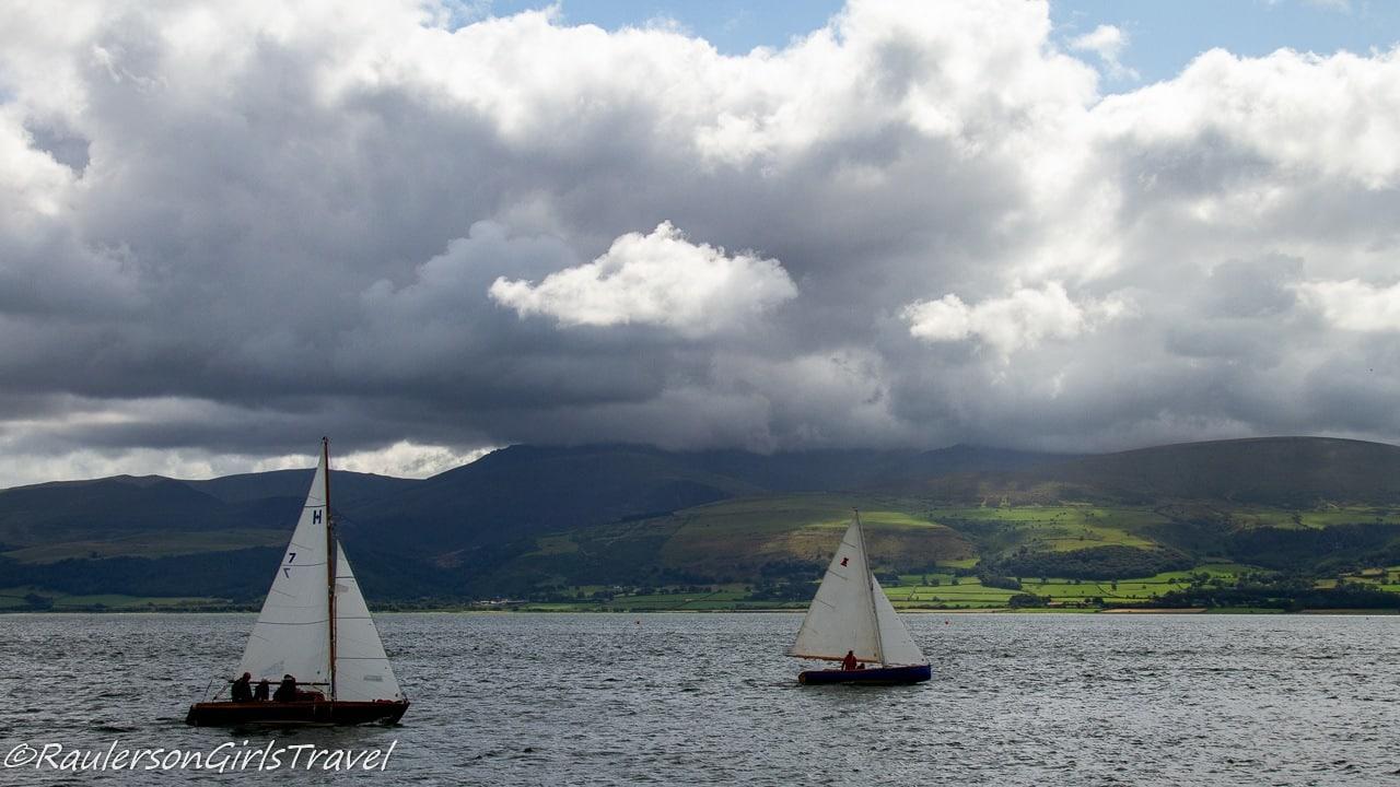 Sailing on the Menai Strait