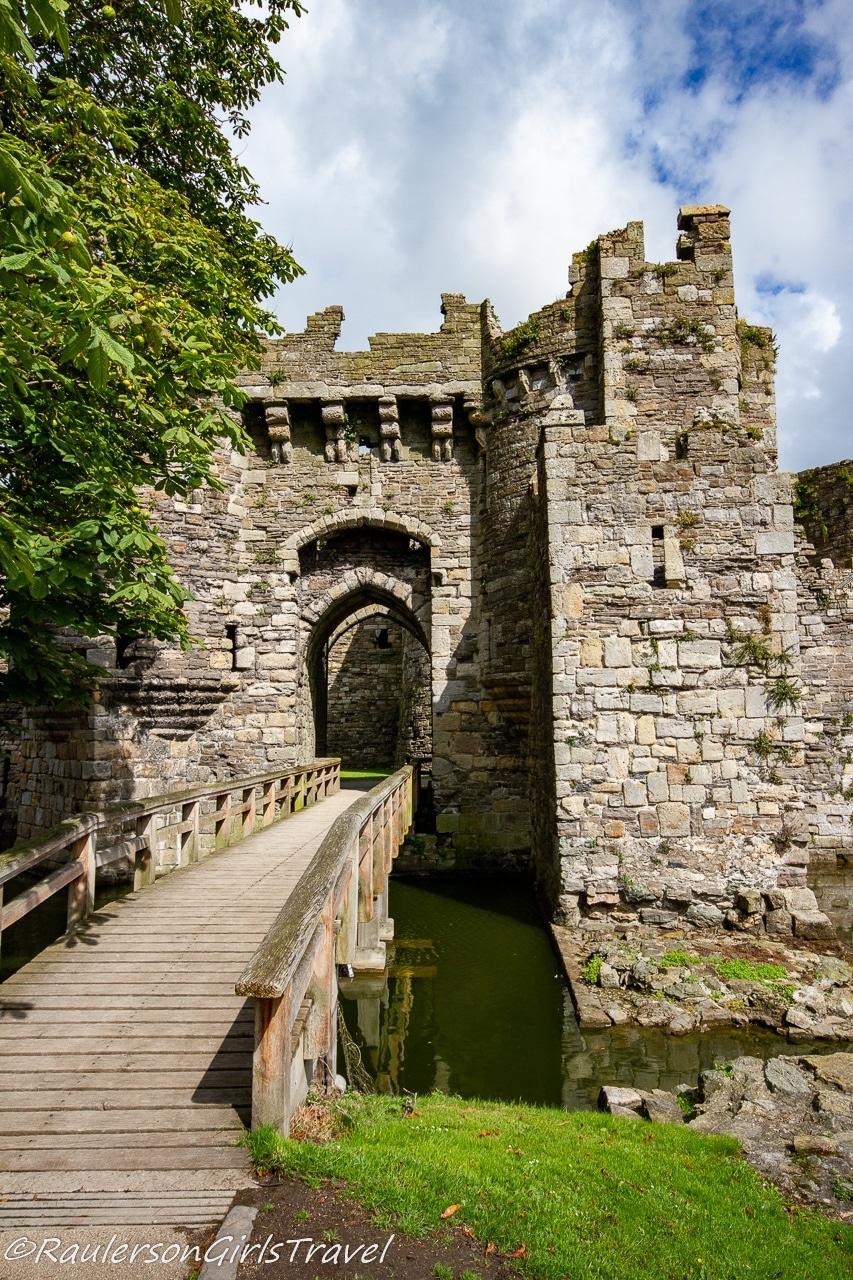 Main Entrance to Beaumaris Castle