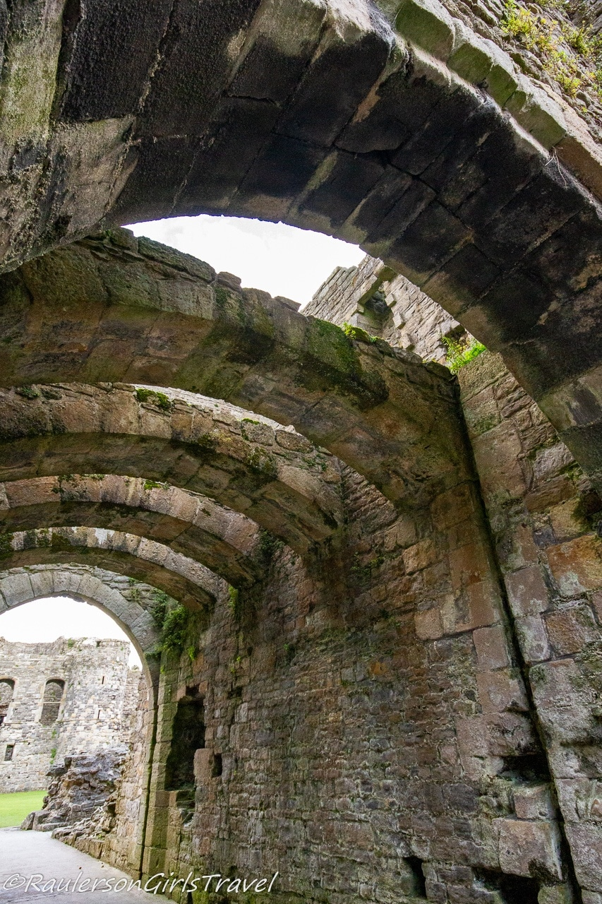 Archways in the castle