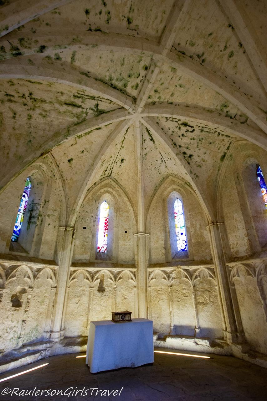 Chapel inside castle