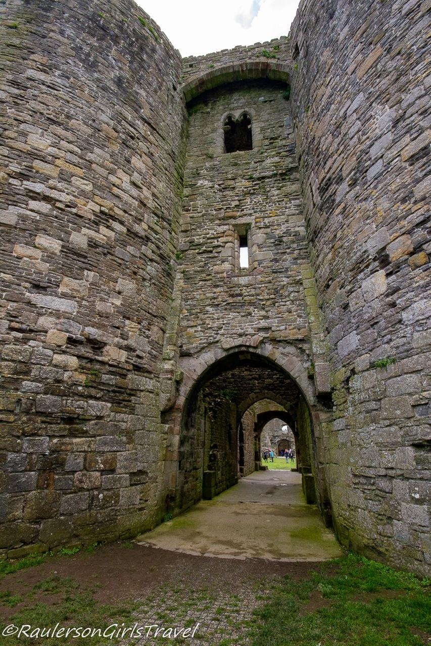 Gate doorway into castle