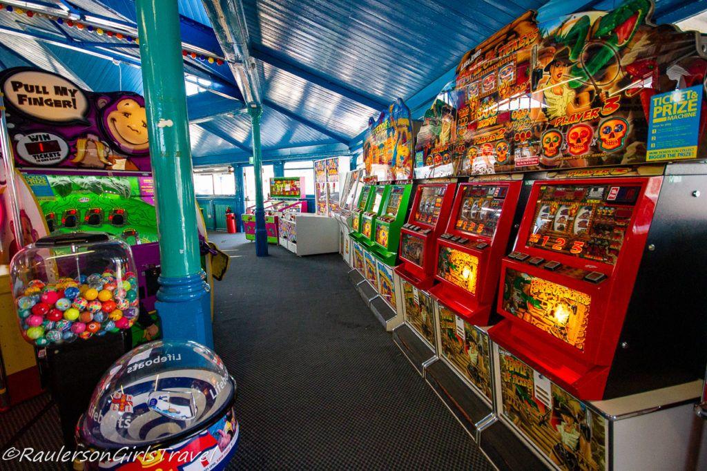Arcade Games on Llandudno Pier