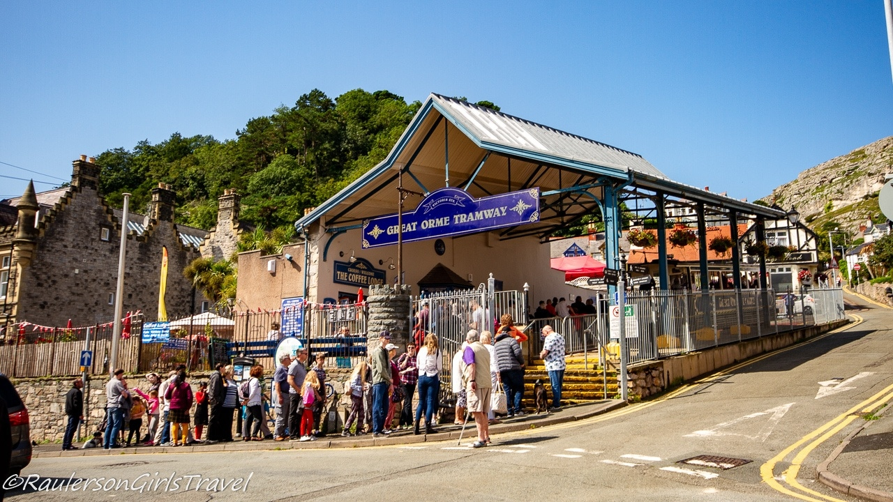 The Great Orme Tramway Station