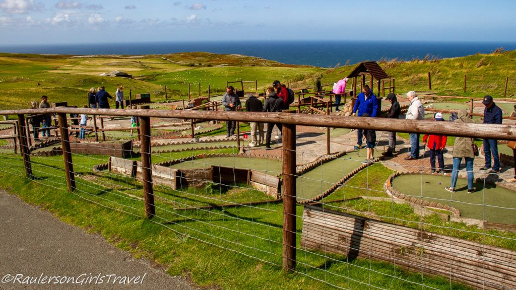 Miniature Golf at the Great Orme Summit Complex