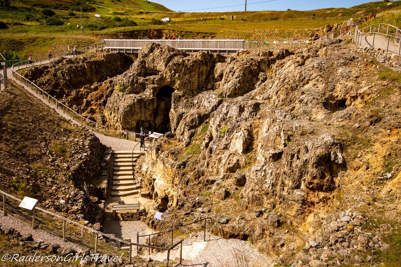 Pathways around the Great Orme Bronze Age Mine