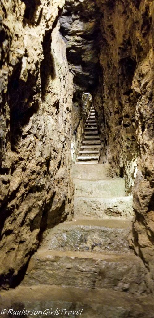 Inside the Great Orme Mine