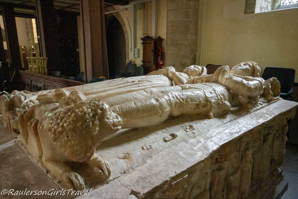 The Alabaster Tomb in St. Mary's & St. Nicholas's Church
