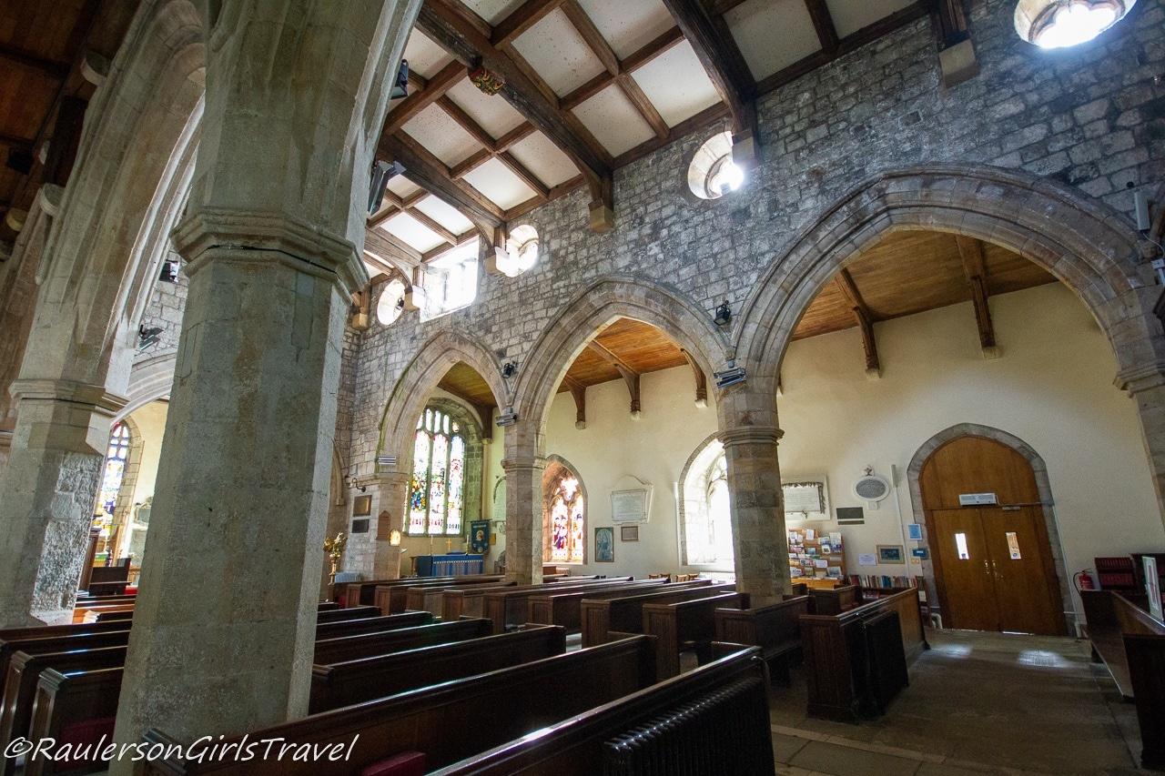 Inside St. Mary's & St. Nicholas's Church