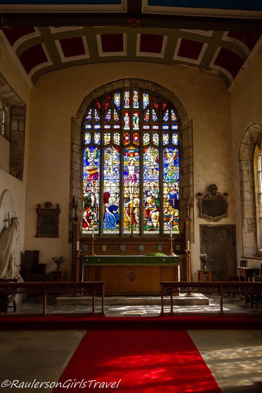 Main Altar in St. Mary's & St. Nicholas's Church