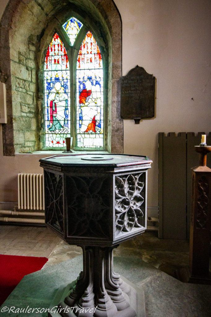 Baptismal in St. Mary's & St. Nicholas's Church